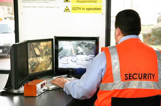 Guard Monitoring CCTV
